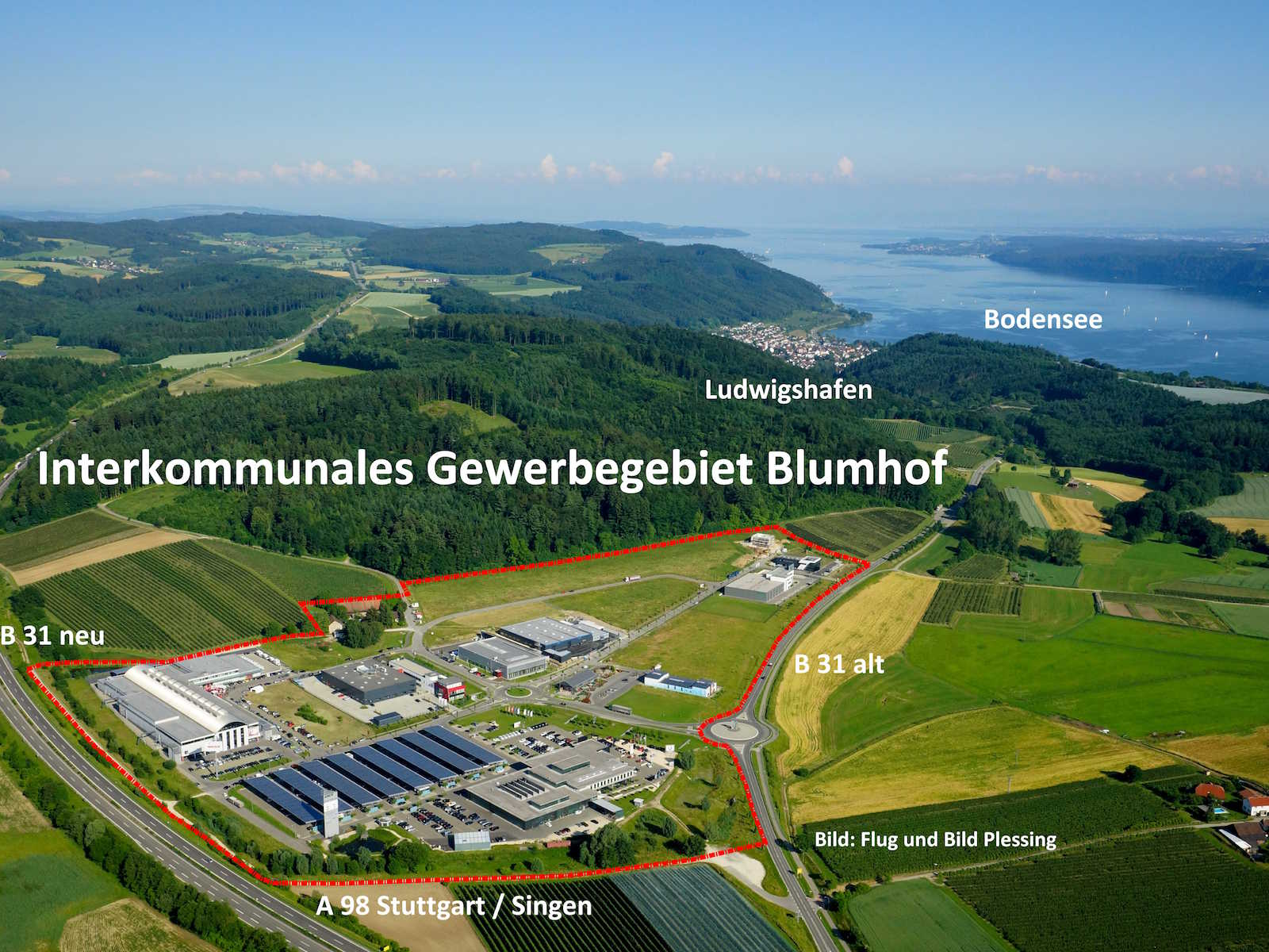 "The inter-communal industrial park, ""Blumhof"""