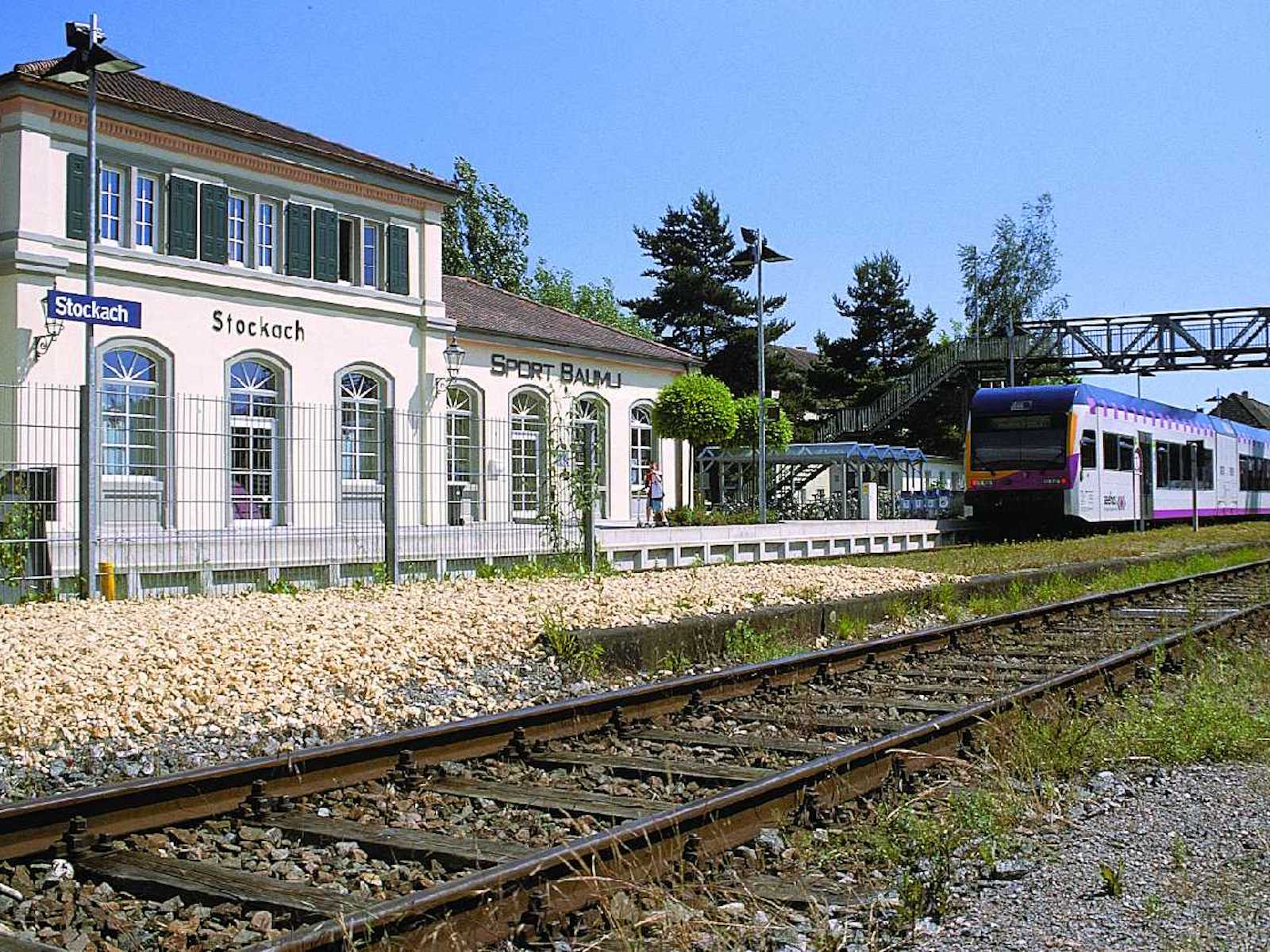 The station in Stockach
